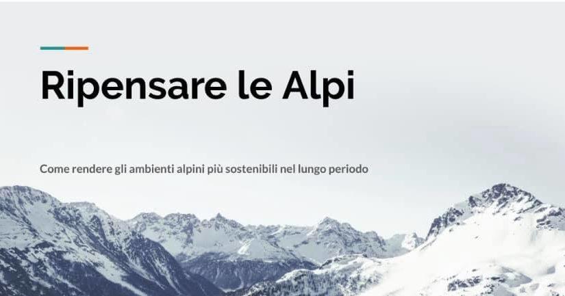 Ripensare le Alpi – tra sviluppo e sostenibilità
